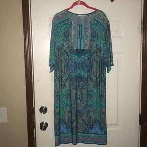 Beautiful Plus Size Studio One New York Dress 2X